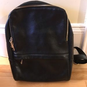 Handbags - Leather bag back pack